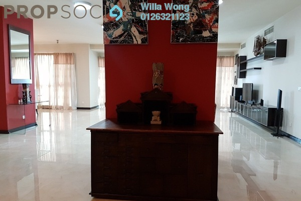 Condominium For Rent in Cendana, KLCC Freehold Fully Furnished 4R/5B 15k