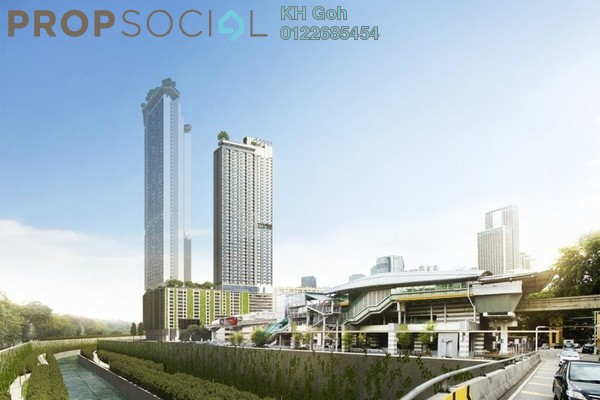 For Sale SoHo/Studio at Riveria City, Brickfields Leasehold Fully Furnished 0R/1B 286k