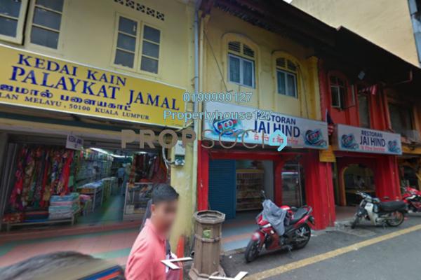 Shop For Rent in Jalan Masjid India, Dang Wangi Freehold Unfurnished 0R/0B 4k