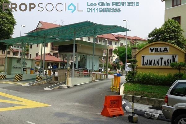 Townhouse For Sale in Villa Laman Tasik, Bandar Sri Permaisuri Freehold Unfurnished 4R/3B 635k