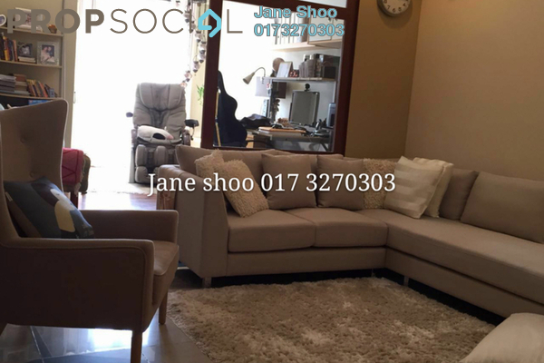Townhouse For Sale in Bukit OUG Townhouse, Bukit Jalil Freehold Semi Furnished 3R/3B 628k