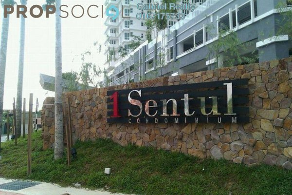 Condominium For Rent in 1Sentul, Sentul Freehold Semi Furnished 3R/2B 2k