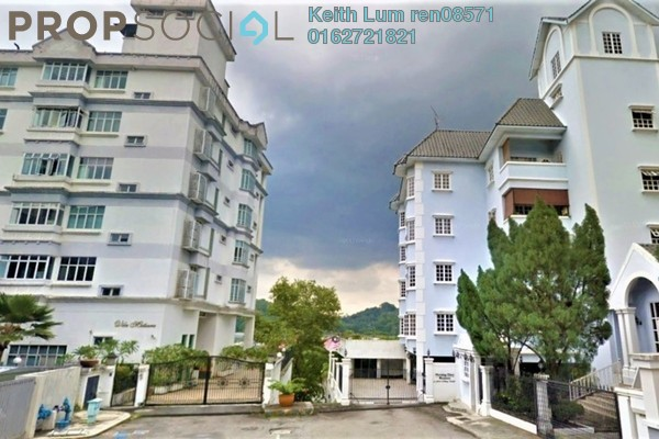 Apartment For Rent in Villa Mutiara, Bangsar Freehold Semi Furnished 4R/4B 6.5k
