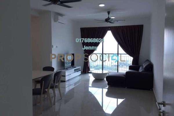 Condominium For Rent in Parkhill Residence, Bukit Jalil Freehold Fully Furnished 3R/2B 2.5k