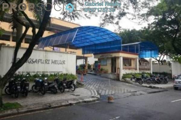 Condominium For Rent in Melur Apartment, Sentul Freehold Semi Furnished 3R/2B 1.5k