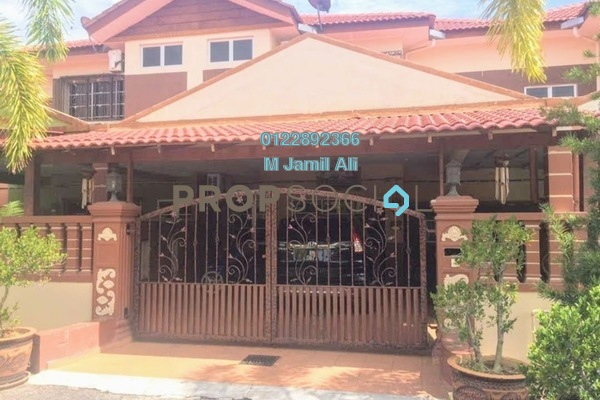 Superlink For Sale in Kampung Pengkalan Badak, Bukit Katil Freehold Fully Furnished 3R/3B 428k