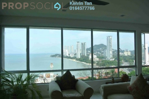 Condominium For Sale in The Waterfront, Tanjung Bungah Freehold Semi Furnished 4R/4B 1.5m
