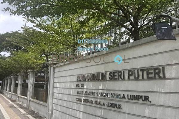 Condominium For Rent in Seri Puteri, Bandar Sri Permaisuri Freehold Fully Furnished 3R/2B 1.88k