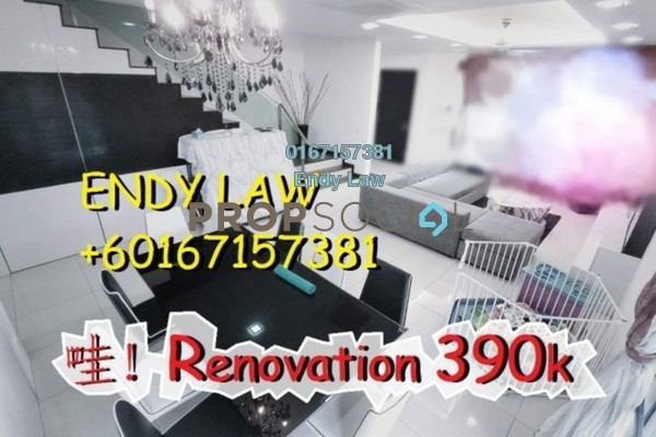 For Sale Semi-Detached at Goodfields Residence, Bukit Minyak Freehold Semi Furnished 4R/3B 1.02m