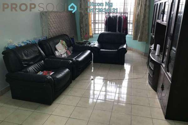 Condominium For Sale in Angkasa Condominiums, Cheras Freehold Fully Furnished 3R/2B 430k