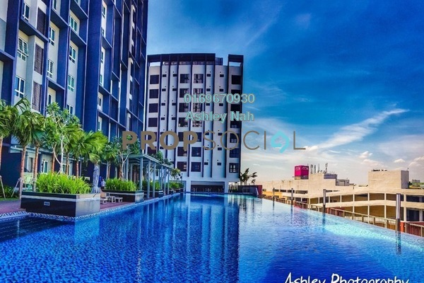 For Sale Condominium at The Lead Residences, Klang Freehold Semi Furnished 2R/2B 570k