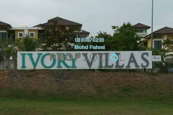 For Rent Semi-Detached at Ivory Villas, Mantin Freehold Semi Furnished 7R/7B 5k