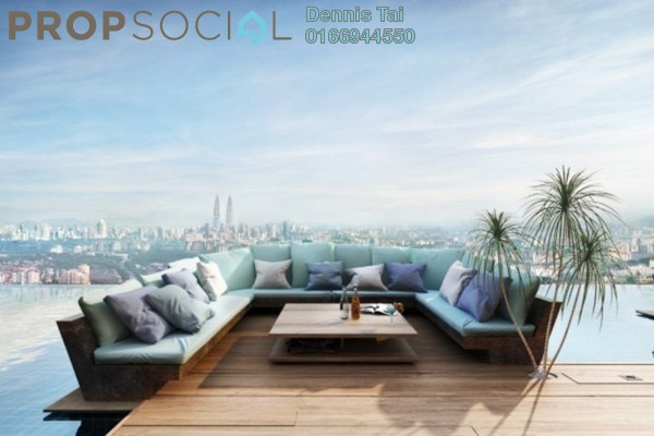 Serviced Residence For Sale in 28 Boulevard, Pandan Perdana Freehold Semi Furnished 0R/1B 300k