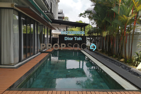 Semi-Detached For Rent in Idamansara, Damansara Heights Freehold Semi Furnished 5R/6B 18.5k