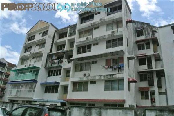 Condominium For Sale in Taman Lip Sin, Sungai Nibong Freehold Semi Furnished 3R/2B 365k