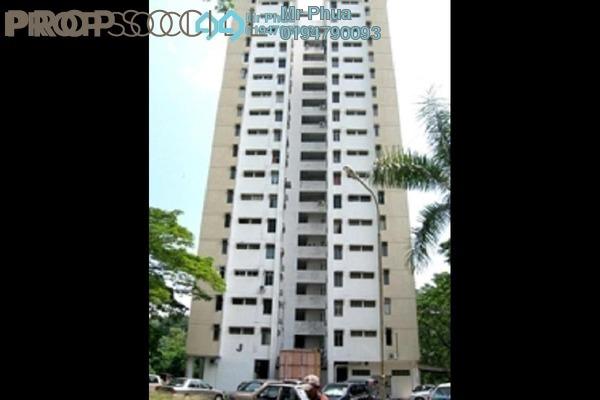 Apartment For Sale in Taman Bukit Jambul, Bukit Jambul Freehold Semi Furnished 3R/2B 290k