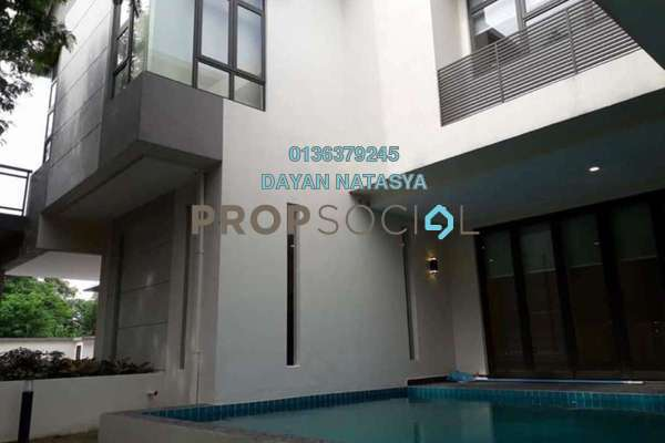 Bungalow For Sale in Taman Tasik Titiwangsa, Titiwangsa Freehold Semi Furnished 5R/6B 2.6m
