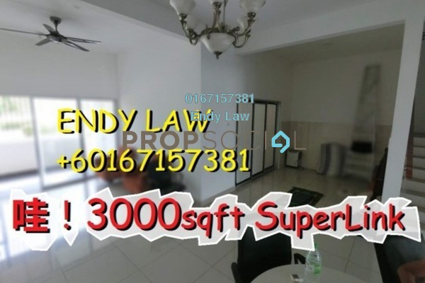 For Sale Semi-Detached at Goodfields Residence, Bukit Minyak Freehold Semi Furnished 4R/4B 850k