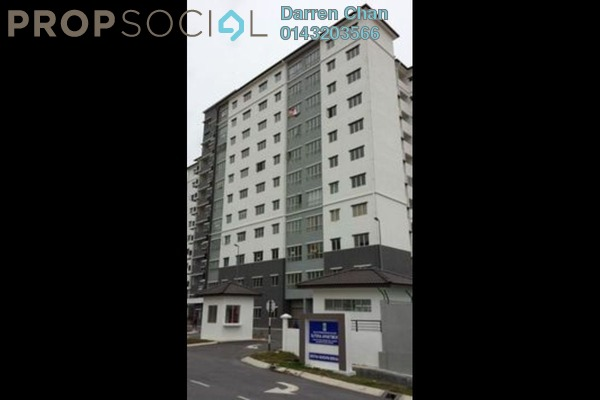 Apartment For Sale in Sutera Apartment, Bandar Tun Hussein Onn Freehold Unfurnished 3R/2B 290k