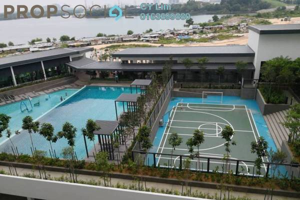 Condominium For Rent in Skyvilla @ D'Island, Puchong Freehold Semi Furnished 3R/2B 2k