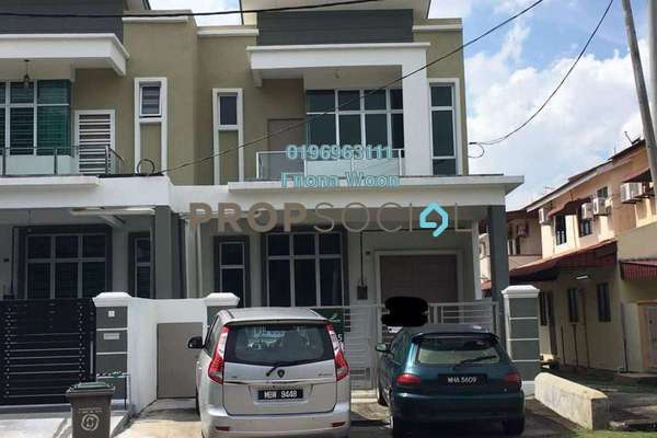 Terrace For Sale in Taman Merak Mas, Bukit Katil Freehold unfurnished 4R/4B 518k