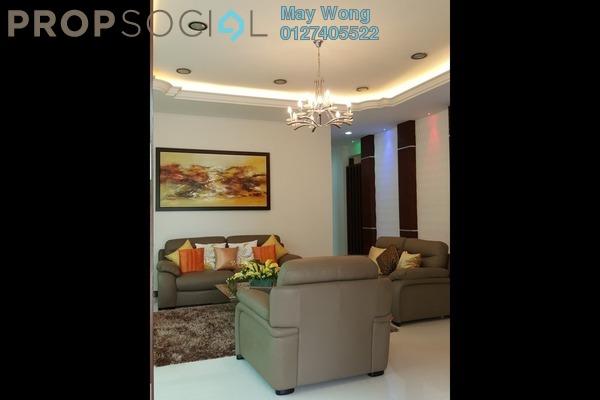Bungalow For Rent in Seri Kembangan Apartment, Bukit Beruntung Freehold Fully Furnished 7R/7B 14k