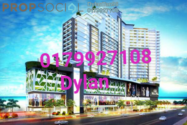 For Sale Serviced Residence at Marina Point, Klebang Freehold Fully Furnished 0R/0B 500k