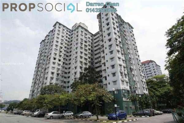Condominium For Sale in Seri Mas, Bandar Sri Permaisuri Freehold Semi Furnished 3R/2B 330k