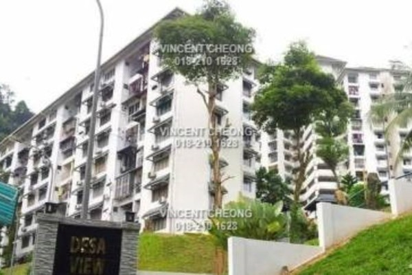 Apartment For Sale in Desa View Towers, Melawati Freehold Semi Furnished 3R/0B 243k