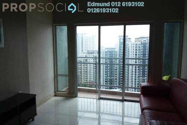 Condominium For Sale in Metropolitan Square, Damansara Perdana Freehold Semi Furnished 3R/2B 510k