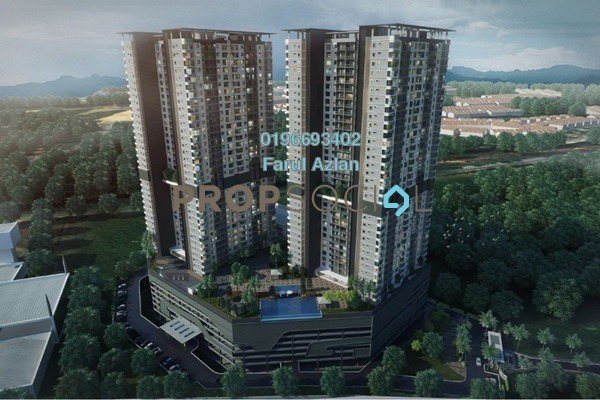 For Sale Condominium at Paraiso @ The Earth Bukit Jalil, Bukit Jalil Leasehold Unfurnished 3R/2B 550k