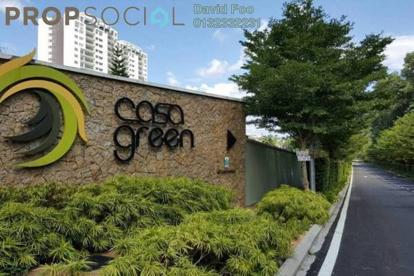 Condominium For Rent in Casa Green, Cheras South Freehold Semi Furnished 4R/3B 1.8k