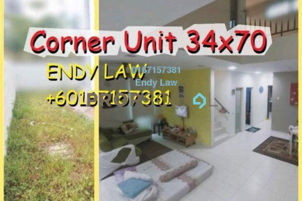 For Sale Terrace at Goodfields Residence, Bukit Minyak Freehold Semi Furnished 3R/2B 575k