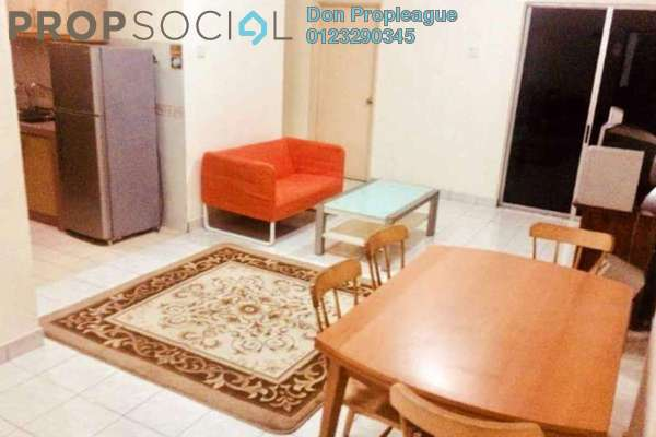 Apartment For Rent in Pelangi Damansara, Bandar Utama Freehold fully_furnished 3R/2B 1.2k
