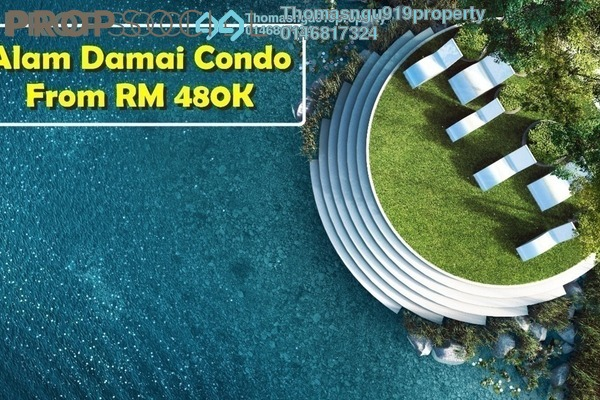 Condominium For Sale in Emerald Hills, Alam Damai Freehold Unfurnished 2R/2B 489k