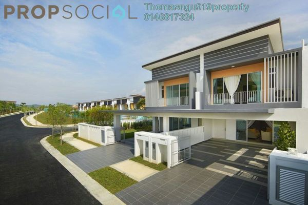 Superlink For Sale in Casa Din'ari @ Cybersouth, Dengkil Leasehold Unfurnished 4R/3B 650k