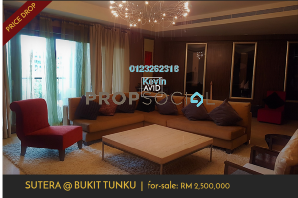 Serviced Residence For Sale in Sutera Bukit Tunku, Kenny Hills Freehold Semi Furnished 4R/5B 2.2m