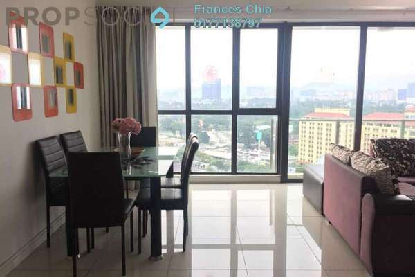 Condominium For Rent in Setia Sky Residences, KLCC Freehold Fully Furnished 2R/2B 2.7k