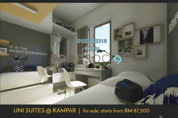 Serviced Residence For Sale in Uni Suites, Kampar Freehold Fully Furnished 0R/1B 87.2k