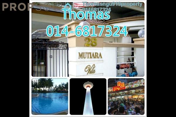 Condominium For Rent in Mutiara Villa, Bukit Ceylon Freehold Fully Furnished 2R/2B 2.3k