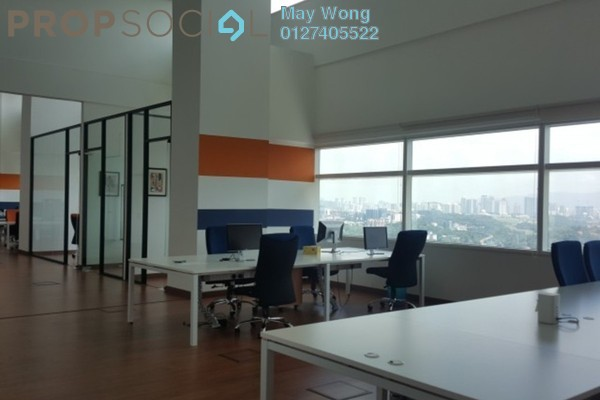 Office For Sale in Q Sentral, KL Sentral Freehold Semi Furnished 0R/0B 5.76m