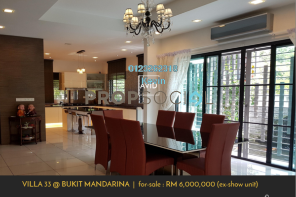 Bungalow For Sale in Villa 33, Cheras Freehold Fully Furnished 5R/6B 6m