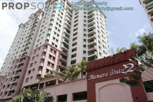Condominium For Rent in Menara Duta 2, Dutamas Freehold Semi Furnished 4R/3B 1.7k