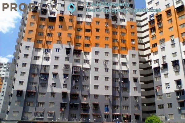Apartment For Rent in Sri Penara, Bandar Sri Permaisuri Freehold Unfurnished 3R/2B 750translationmissing:en.pricing.unit