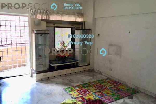 Condominium For Sale in Sri Desa, Kuchai Lama Freehold Semi Furnished 3R/2B 468k