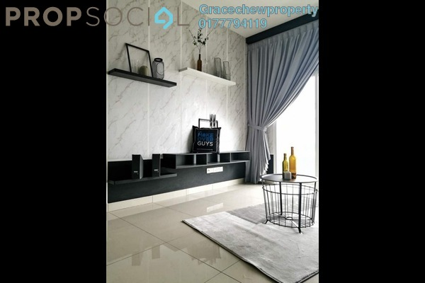 Serviced Residence For Rent in Twin Galaxy, Johor Bahru Freehold Fully Furnished 2R/2B 2.7k