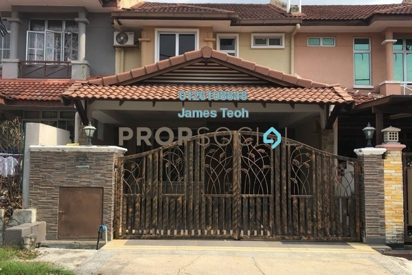 Terrace For Sale in Section 4, Bandar Mahkota Cheras Freehold Semi Furnished 4R/3B 650k