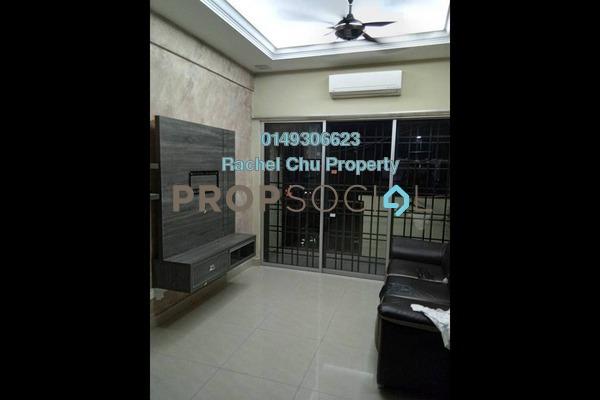 Apartment For Rent in Taman Cheras Intan, Batu 9 Cheras Freehold Semi Furnished 3R/2B 1.1k