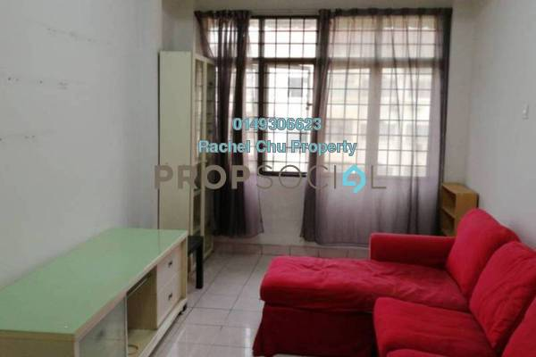 Apartment For Sale in Waja Apartment, Cheras South Freehold Semi Furnished 3R/2B 230k