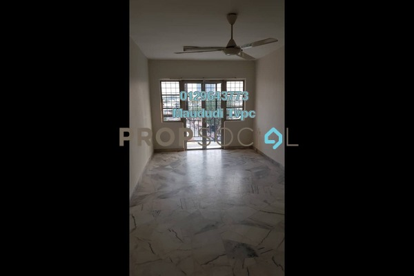 Apartment For Rent in Genting Court, Setapak Freehold Unfurnished 3R/2B 1.1k